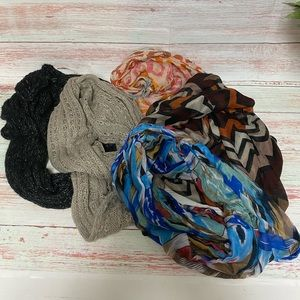 Infinity Scarf Bundle 5pc